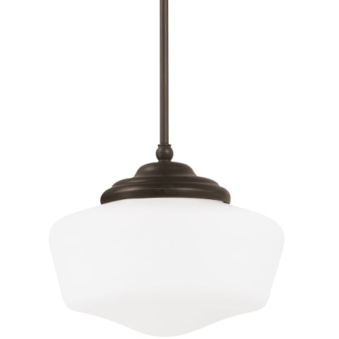 Academy Large One Light Pendant Heirloom Bronze