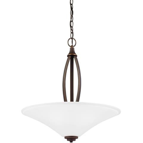 Metcalf Three Light Pendant Autumn Bronze Bulbs Inc