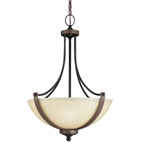 Corbeille Three Light Pendant Stardust