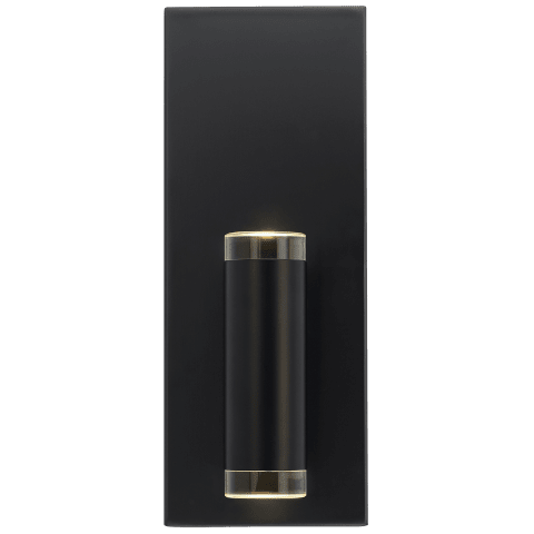 Dobson II 1-Light Wall/Bath 1 Light matte black 3000K 90 CRI led 90 cri 3000k 120v