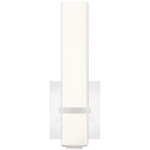 Milan II 13 Bath Acrylic chrome 3000K 90 CRI integrated led 90 cri 3000k 120v (t24)