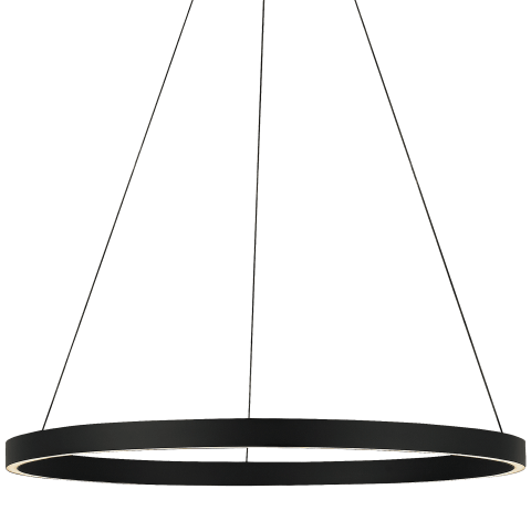 "Fiama 30 Suspension 30"" Diameter black 3000K 90 CRI led 90 cri 3000k 120v-277v unv"
