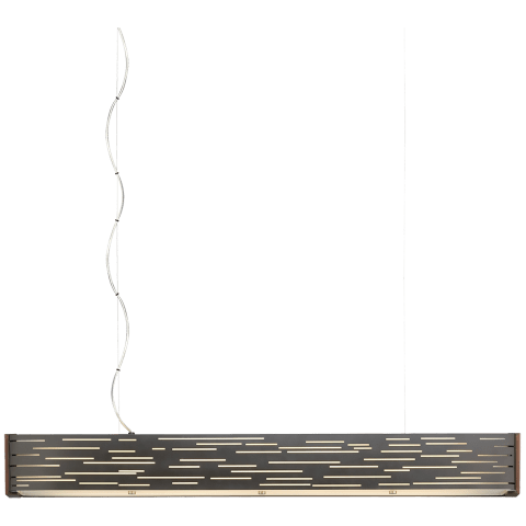 Revel Linear Suspension Antique Bronze 3000K 80 CRI led 80 cri 3000k 120v