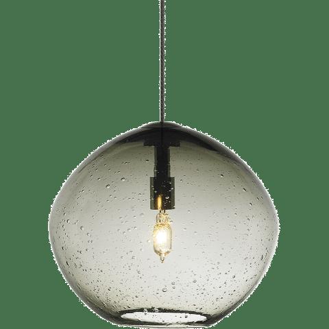 Mini Isla Pendant MonoPoint Smoke antique bronze 3000K 100 CRI 12 volt xenon (t20)