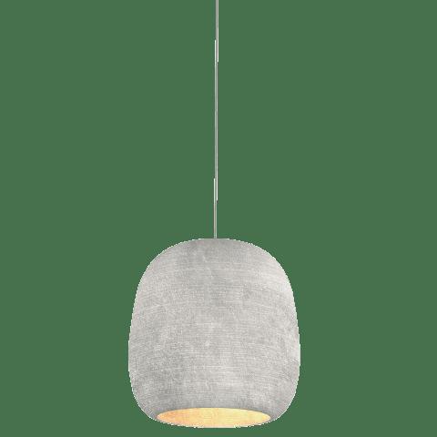 Mini Karam Pendant MonoPoint Concete satin nickel no lamp