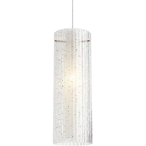 Rombo Pendant MonoPoint Clear satin nickel Not Applicable 12 volt halogen
