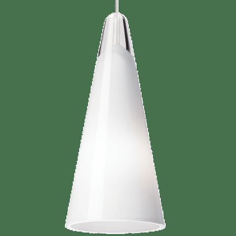 Selina Pendant MonoPoint White satin nickel 3000K 90 CRI 12 volt led 90 cri 3000k (t20/t24)