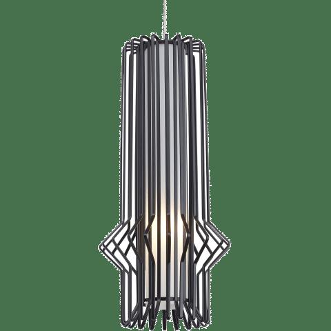 Mini Syrma Pendant MonoPoint Matte Black satin nickel 12 volt halogen (t20)