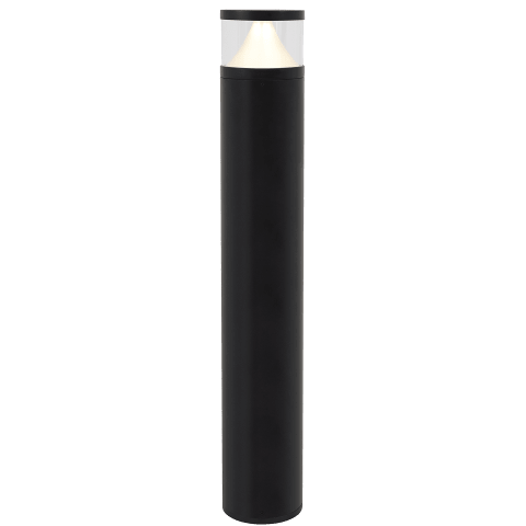 Arkay Three 36 Outdoor Bollard black 3000K 80 CRI