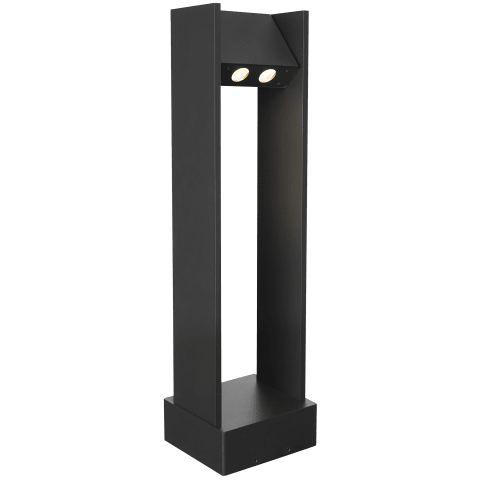 Zur 30 Outdoor Bollard black 3000K 80 CRI