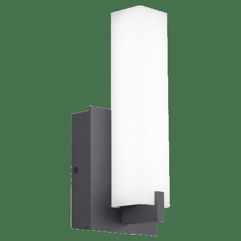 Cosmo 12 Outdoor Wall White Acrylic charcoal 3000K 80 CRI