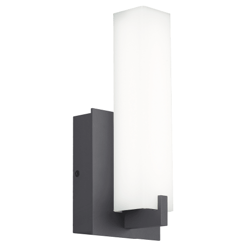 Cosmo 12 Outdoor Wall White Acrylic charcoal 4000K 80 CRI