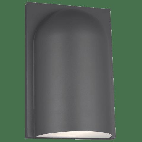 Savino 1 Large Outdoor Wall charcoal 3000K-2200K 90 CRI led 90 cri 3000k-2200k 120v
