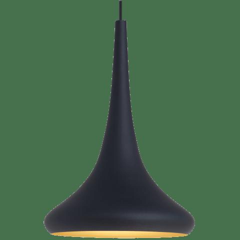 Noema Pendant black/gold no lamp