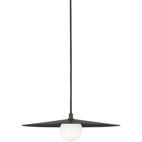 Pirlo Pendant matte black no lamp
