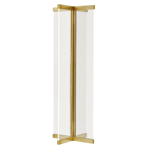 Rohe Table Lamp natural brass 2700K 90 CRI