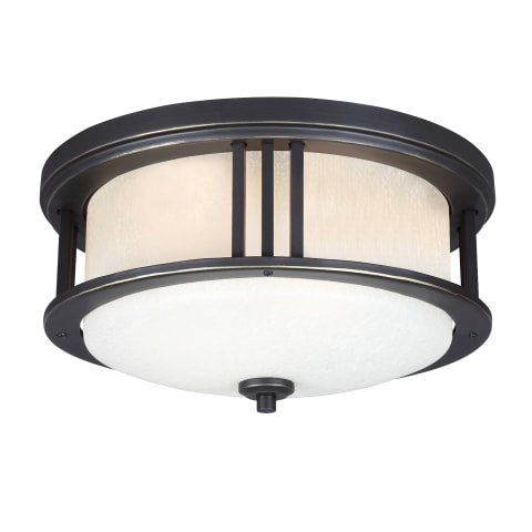 Crowell LED Outdoor Flush Mount Antique Bronze
