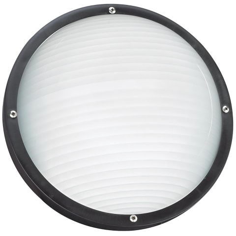Bayside One Light Outdoor Wall / Ceiling Mount White Bulbs Inc