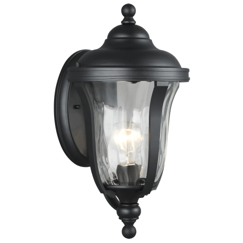 Perrywood Small One Light Outdoor Wall Lantern Black