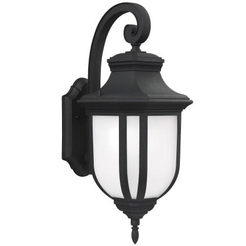 Childress Large One Light Outdoor Wall Lantern Black