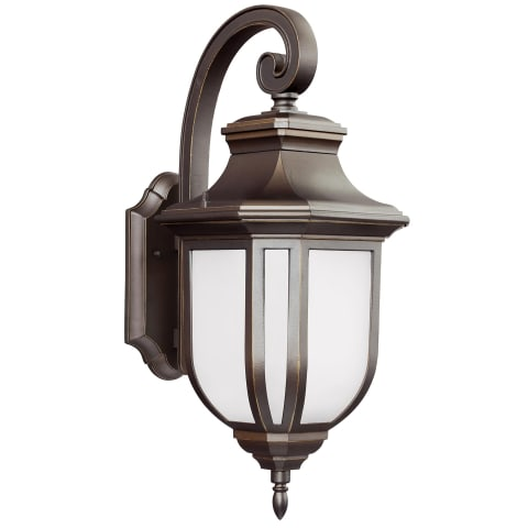 Childress Large One Light Outdoor Wall Lantern Antique Bronze