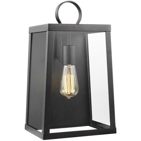 Marinus Large One Light Outdoor Wall Lantern Blacksmith