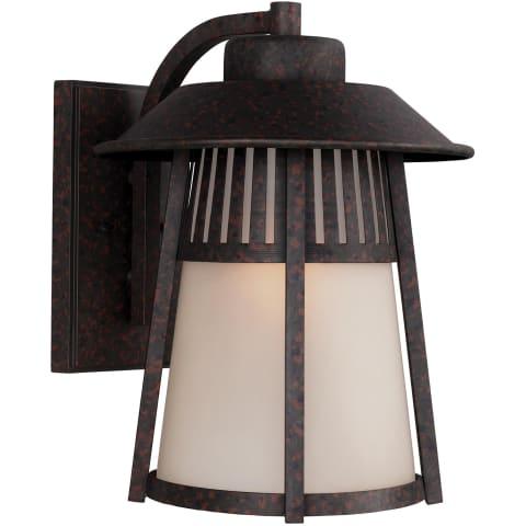 Hamilton Heights Extra Large One Light Outdoor Wall Lantern Oxford Bronze Bulbs Inc