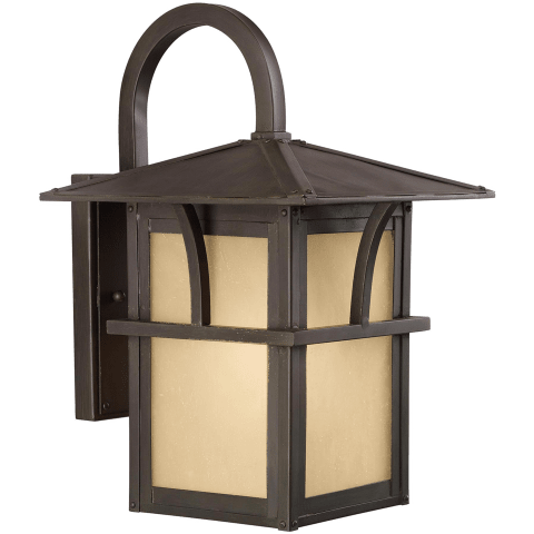 Medford Lakes One Light Outdoor Wall Lantern Statuary Bronze Bulbs Inc