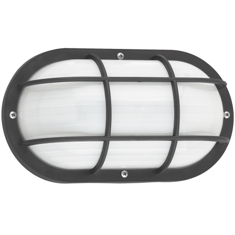 Bayside One Light Outdoor Wall Lantern Black