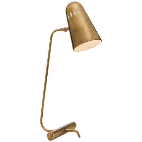 Paix Table Lamp in Hand-Rubbed Antique Brass
