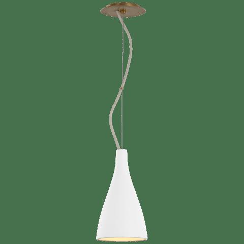 Nimbus Small Pendant in Matte White
