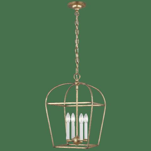 Stonington 4 - Light Lantern Antique Gild