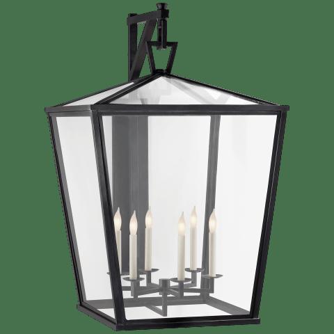 Darlana Grande Bracket Lantern in Bronze