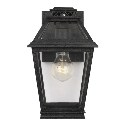 Falmouth Extra Small Outdoor Wall Lantern Dark Weathered Zinc