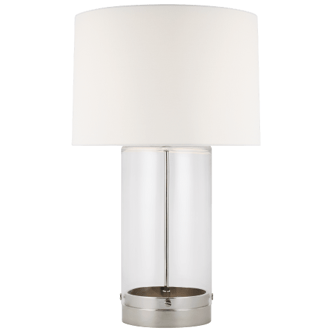 Garrett Table Lamp Polished Nickel Bulbs Inc