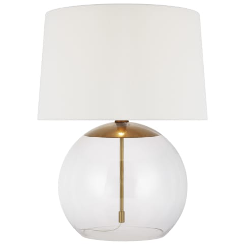 Atlantic 1 - Light Table Lamp Burnished Brass
