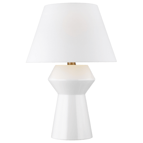 Abaco Inverted Table Lamp Arctic White Bulbs Inc