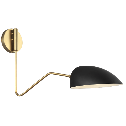 Jane Task Sconce Midnight Black