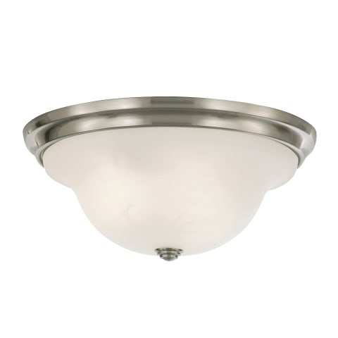 Vista 2 - Light Indoor Flush Mount Brushed Steel