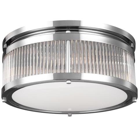 Paulson 3 - Light Flushmount Chrome
