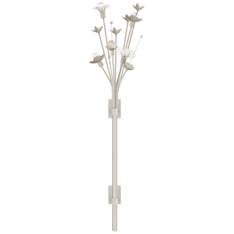 Keaton Large Bouquet Sconce in Light Cream