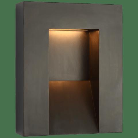 Tribute Medium Sconce in Bronze