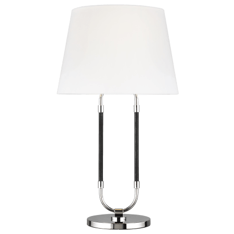 Katie Table Lamp Polished Nickel Bulbs Inc