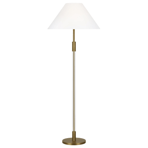 Robert Floor Lamp Time Worn Brass Bulbs Inc