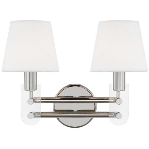 Jake 2 - Light Vanity Polished Nickel