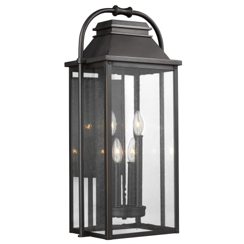 Wellsworth Large Lantern Antique Bronze