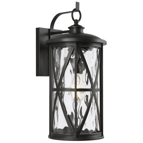 Millbrooke 1 - Light Outdoor Wall Lantern Antique Bronze