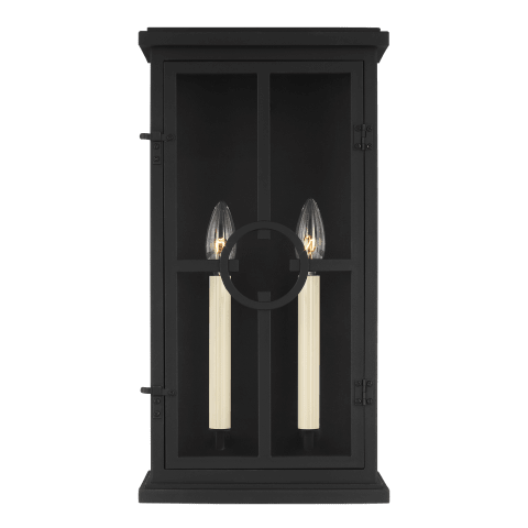 Belleville Medium Lantern Textured Black