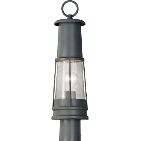 Chelsea Harbor 1-Light Outdoor Lantern Storm Cloud