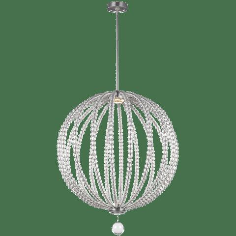 Oberlin 2 - Light Pendant Satin Nickel Bulbs Inc